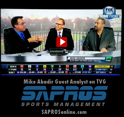 TVG Play With The PROS Guest  Analyst Mike Abadir, NFL Agent