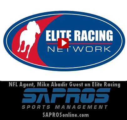 NFL Agent Mike Abadir guest on  Elite Racing Network