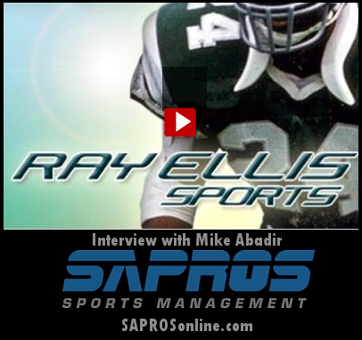 Ray Ellis 2017 Interview with Mike Abadir - SAPROS Sports Management